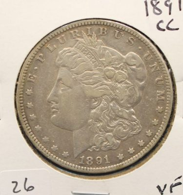 Carson City Mint Coins at Powell Auction