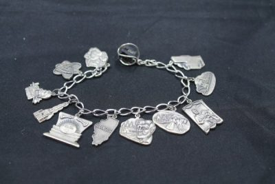 Sterling Silver Charms and Bracelets at Powell Auction