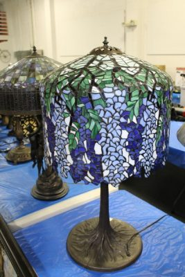 Stained Glass Lamps at Powell Auction