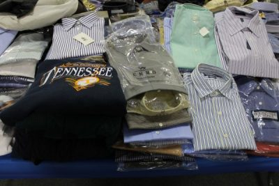 New Shirts and Clothing at Powell Auction