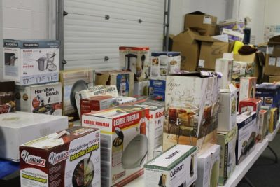 Kitchen and Household Items at Powell Auction