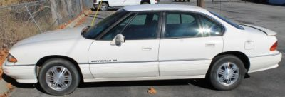 Lot #150 - 1992 Pontiac Bonneville SE at Powell Auction
