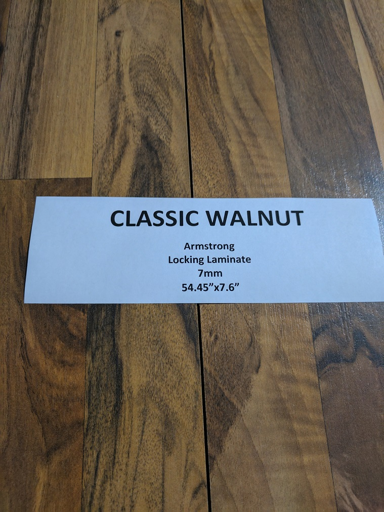 Laminate Armstrong Classic Walnut