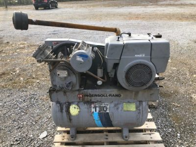 Ingersoll Rand air compressor Powell Auction & Realty