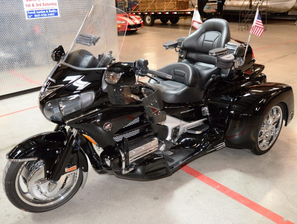 2012 Honda Goldwing 1000 @ Powell Auction