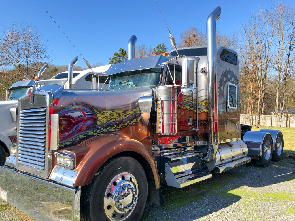 2000 KENWORTH W900L 550 CAT 2WS POWELL AUCTION & REALTY www.powellauction.com