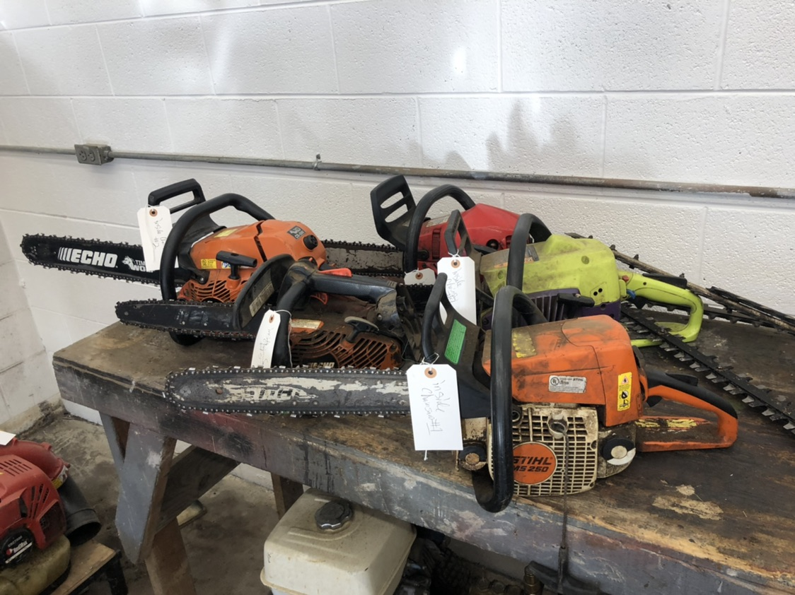 STIHL CHAIN SAWS www.powellauction.com