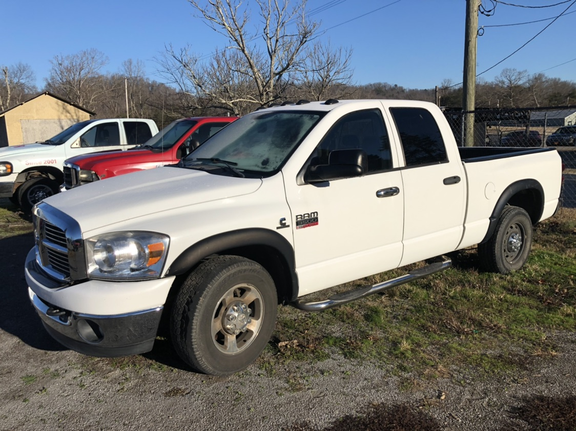 2008 DODGE 3500HD CUMMINS www.powellauction.com