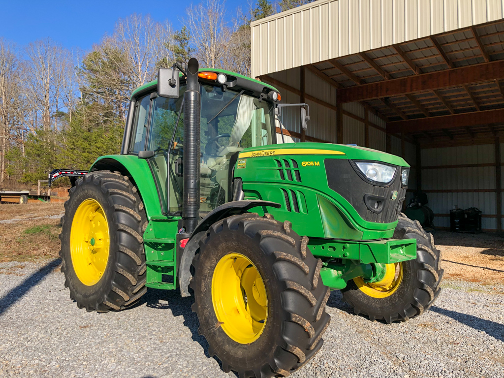 JOHN DEERE 6105M POWELL AUCTION & REALTY www.powellauction.com