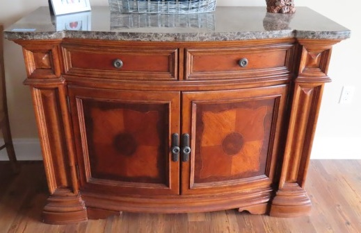 Marble Top Server at Powell Auction