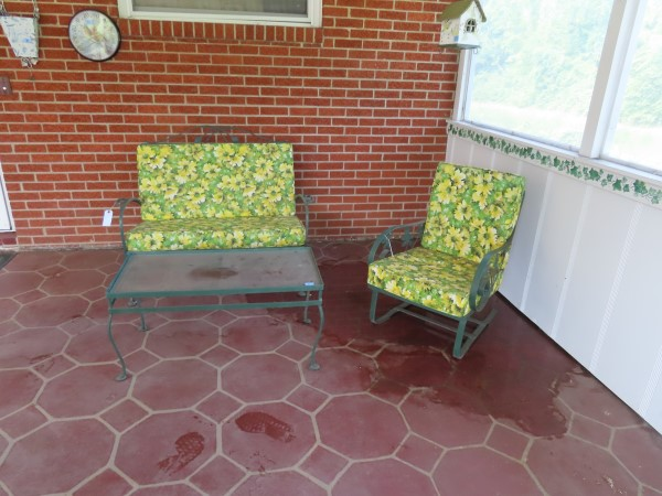 Wrought Iron Patio Furniture at Powell Auction