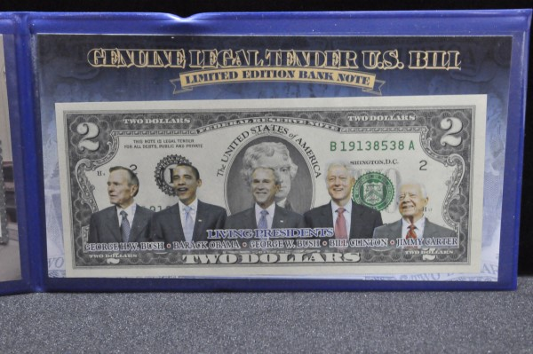 Currency at Powell Auction
